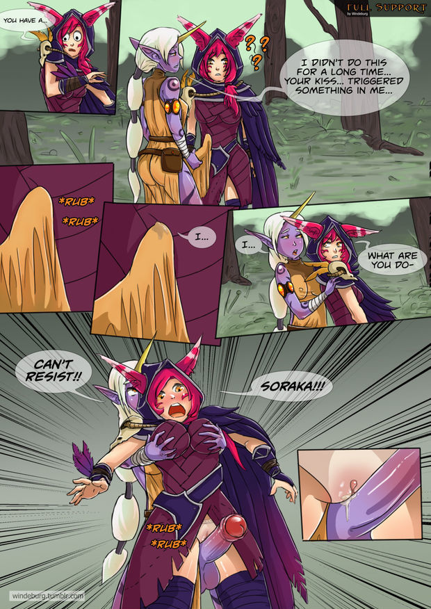 Full Support League of Legends Comic p. 2 page 1
