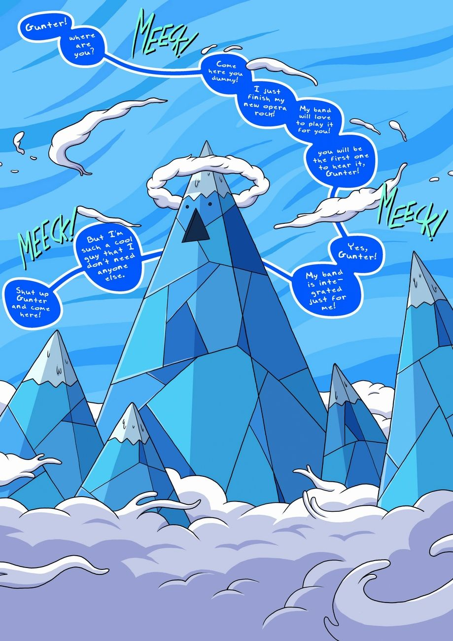 The Ice King Sexual Picture Show - part 2 page 1