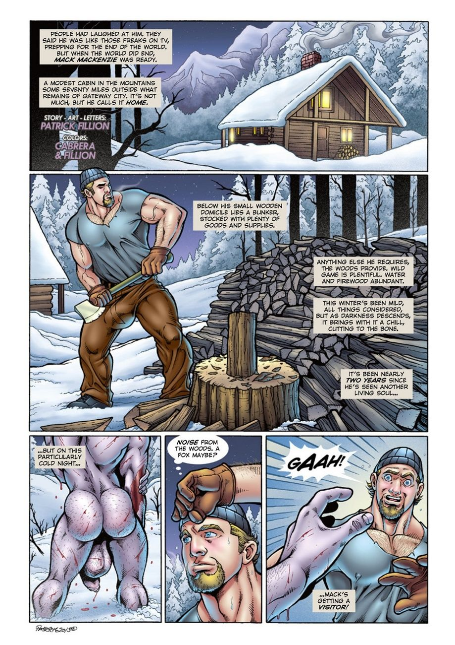 Deimos - Dead Of Winter 1 page 1