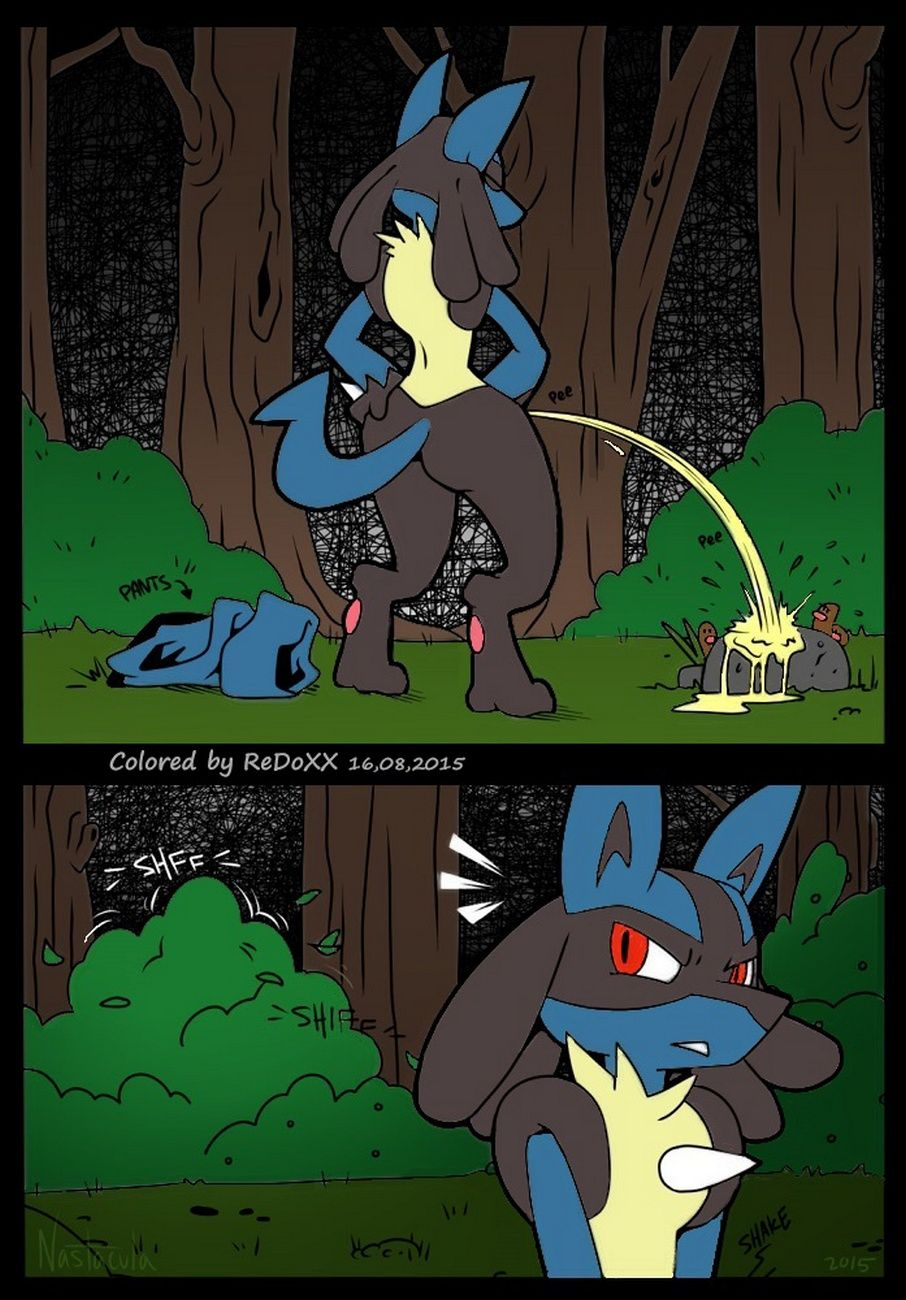 A Wild Lucario Appears page 1